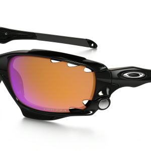 OAKLEY Polished Black Prizm Trail Racing Jacket